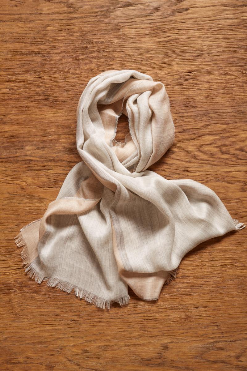 b1d31592e60cb Luxury Baby Alpaca Scarf in Grey | Lightweight Wrap | Shop Tuwi London