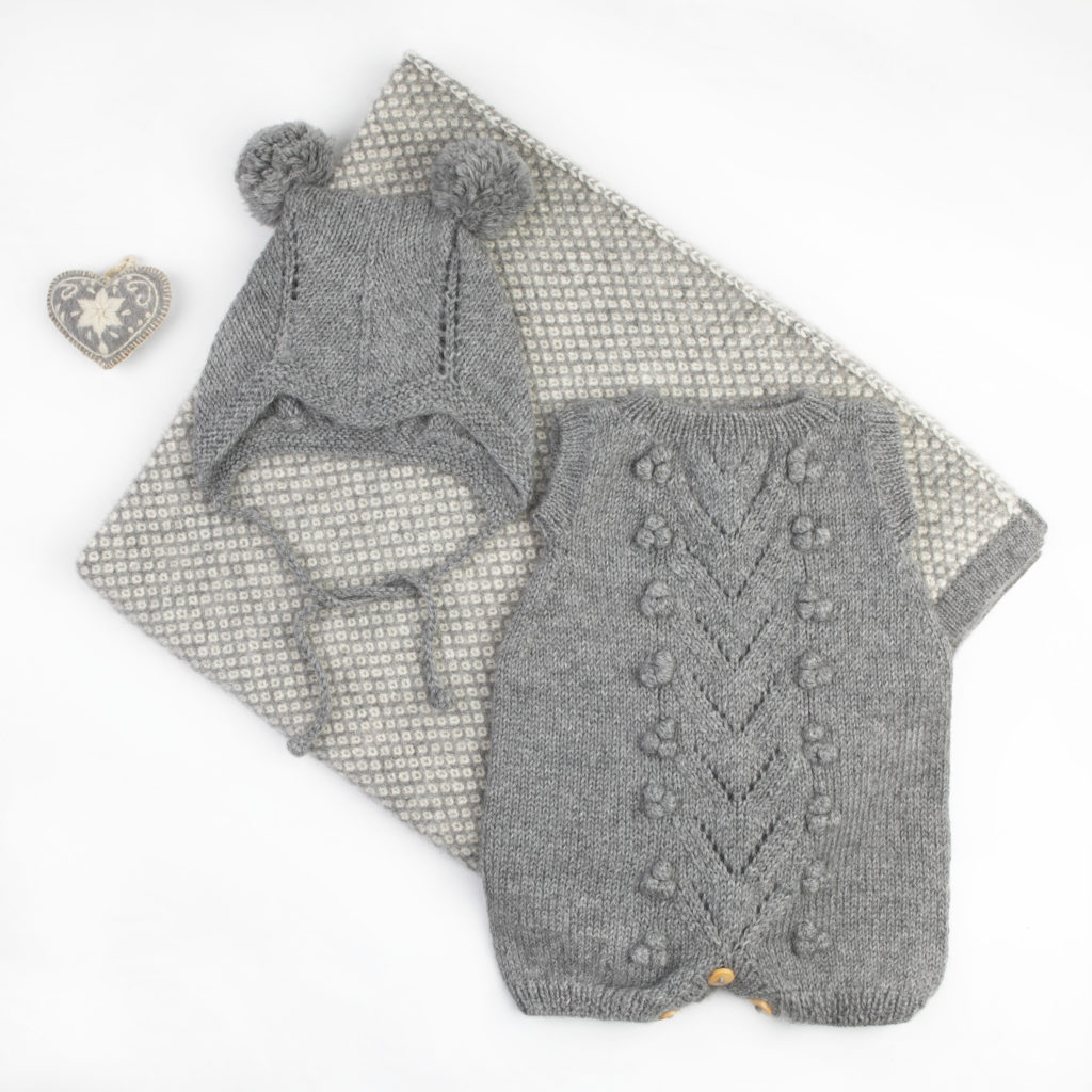 Luxury baby gift set in premium alpaca