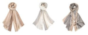 Tuwi Alpaca Wool Maya Eco Scarves In 3 Colours