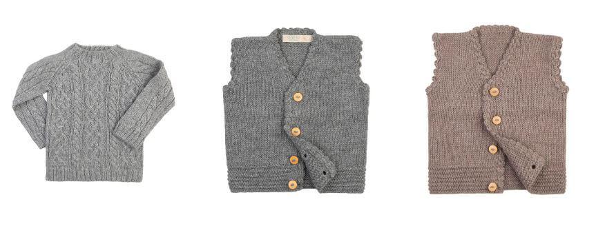 Tuwi Baby Alpaca Wool Baby Sweaters & Vests
